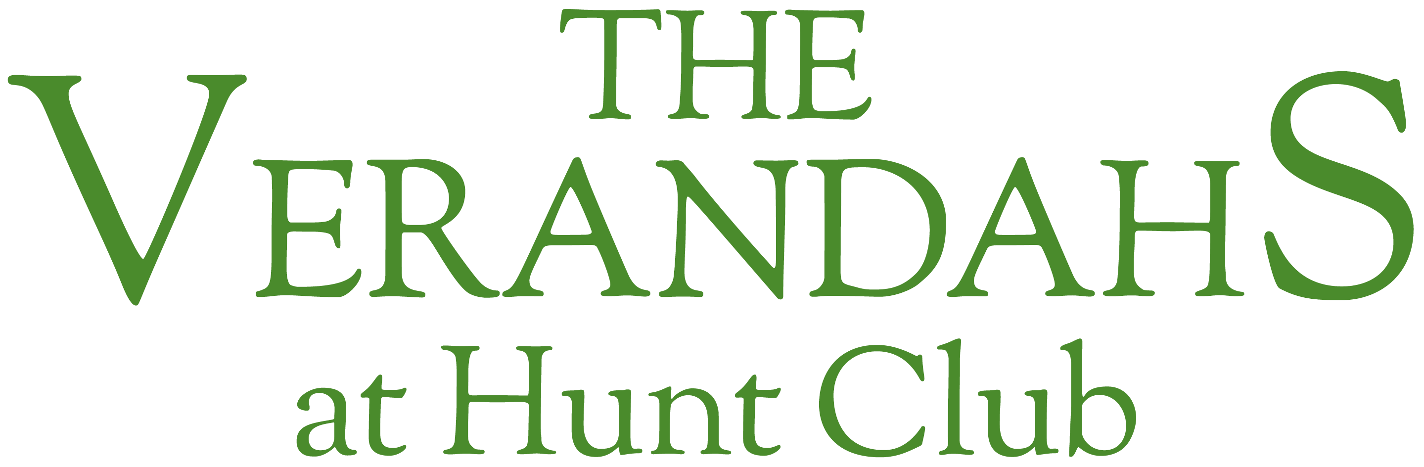 Verandahs at Hunt Club Logo